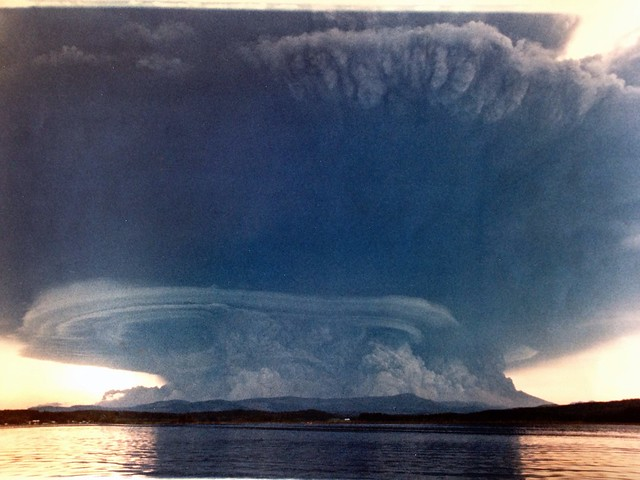 Ash Cloud from May 18, 1980 Eruption of Mt St Helens