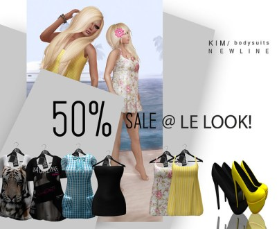 50% OFF Mini Sale @ KIM