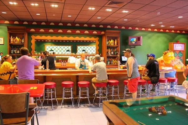 The Simpsons Springfield Fast Food Boulevard at Universal Orlando