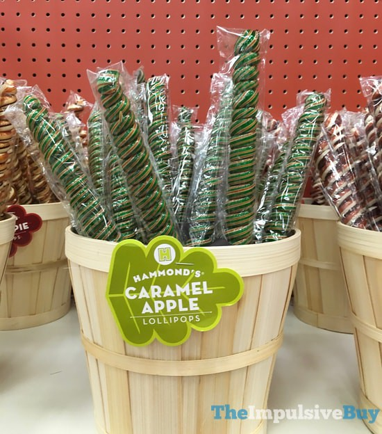 Hammond's Caramel Apple Lollipops