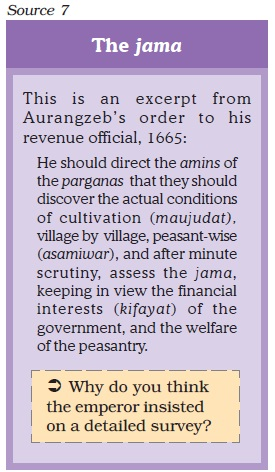 NCERT Class XII History Part 2: Theme 8   Peasants, Zamindars And The State Image by AglaSem