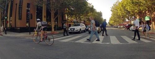 Downtown San Jose traffic