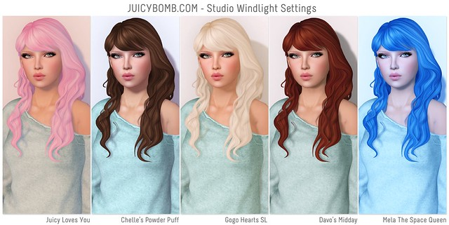 JUICYBOMB.COM - Studio Windlight Settings (1/2)