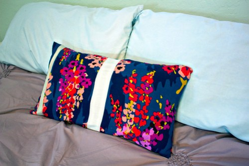 Finished pillow