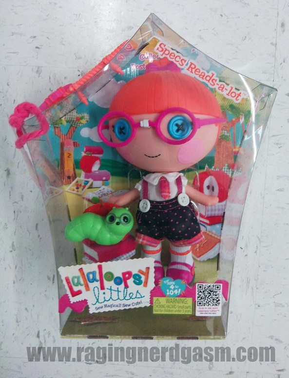 Lalaloopsy Dolls Littles Specs Reads a lot03