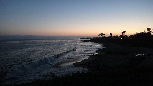 Santa Cruz at Sunset by That Girl Crystal