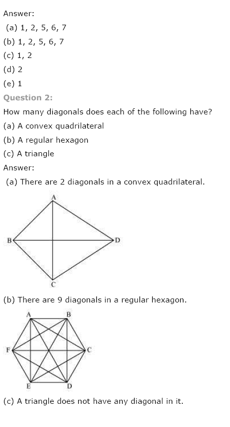 NCERT Solutions for Class 8th Maths Chapter 3 Understanding Quadrilaterals Image by AglaSem