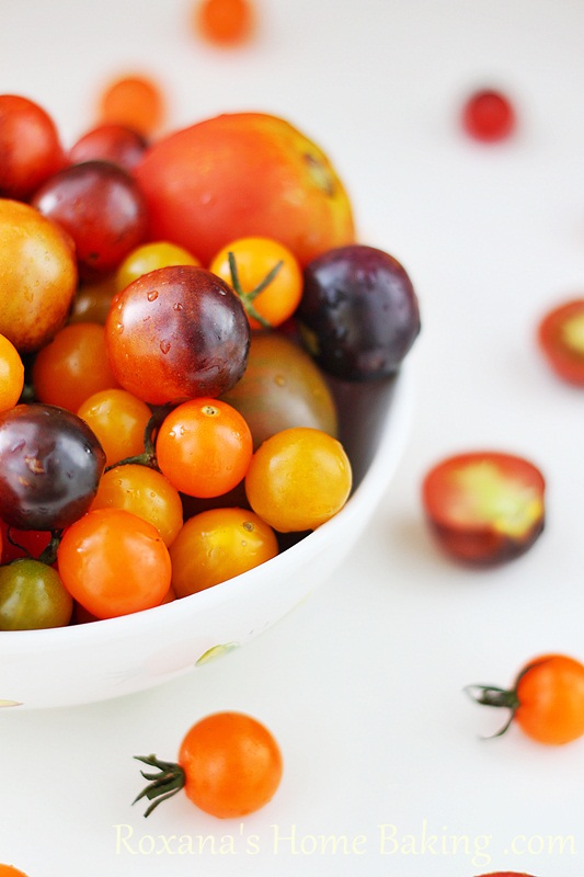 Cherry and kumato Tomatoes | Roxanashomebaking.com