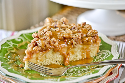 Caramel Apple Coffee Cake 1