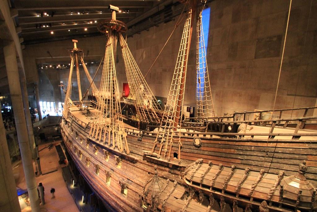 Vasa Warship Museum- Stockholm, Sweden