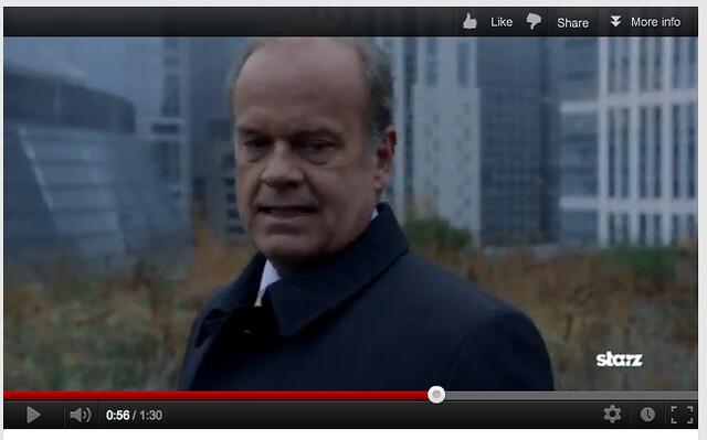 Boss Season 2 Filming: City Hall Roof Garden