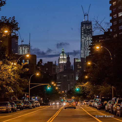 East Bway - WTC - Evening
