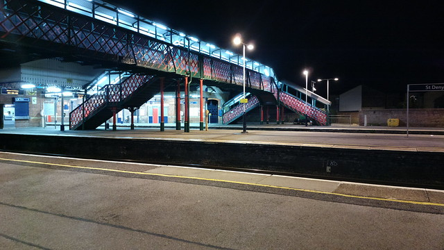 St Denys Station.