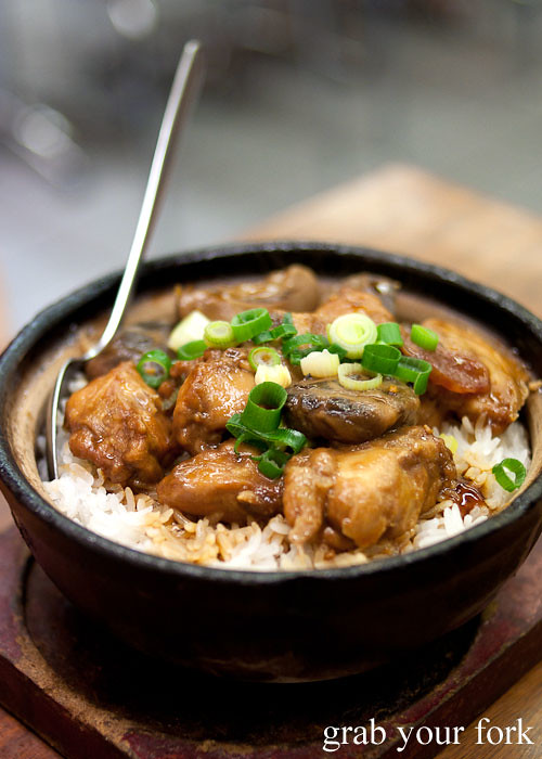 Paleo Chinese Clay Pot Rice with Chicken