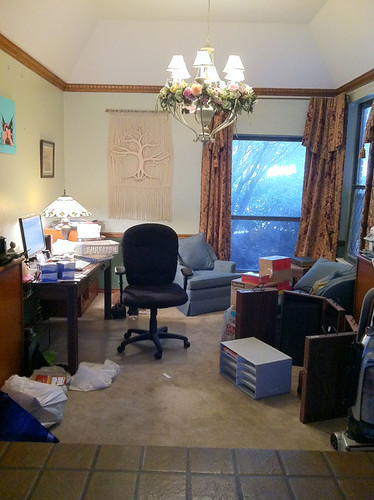 Messy Office 1 by Francesca Watson Designs