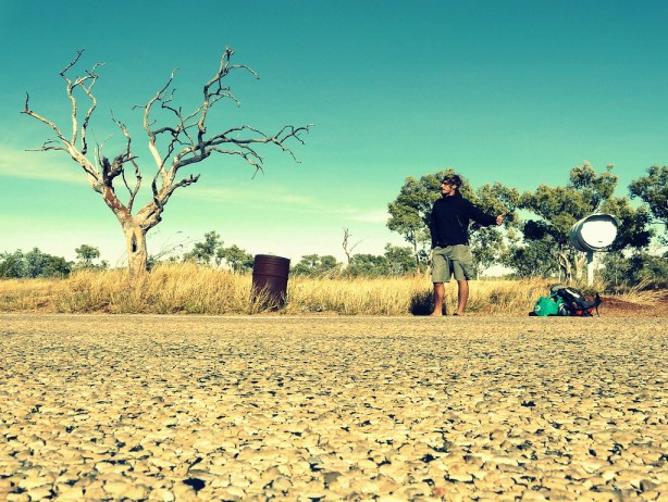 Hitch-hiking in Australia - by Michel Pretzsch
