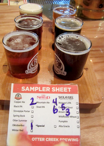 Otter Creek/Wolaver's/Shed sampler