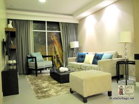 3-Bedroom - Living Room