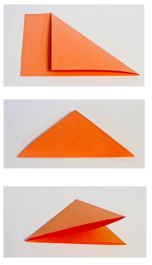 DIY Paper Spiderwebs - Step 1