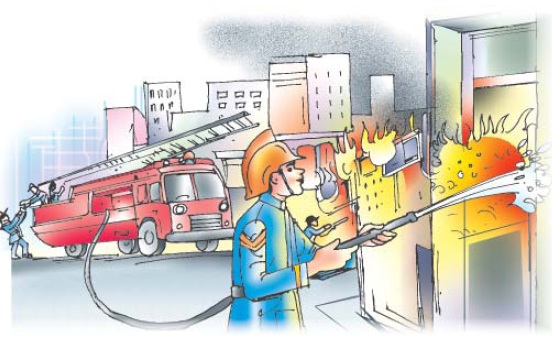 NCERT Class VII English Chapter 8 Fire: Friend and Foe Image by AglaSem