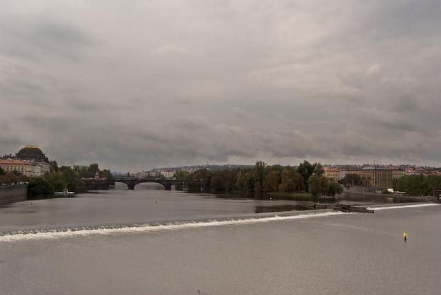 El río Moldava