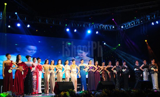 Twenty candidates representing the true beauty of Batangueña, all vied for the crown for this year's beauty pageant title.