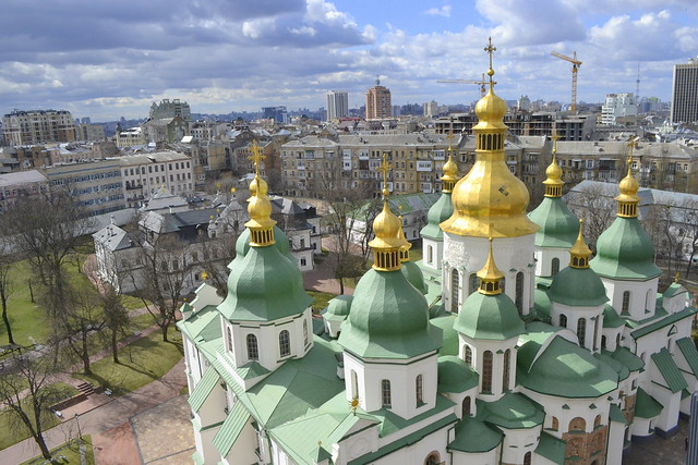 Moving to Kiev_View from Saint Sophia Bell Tower