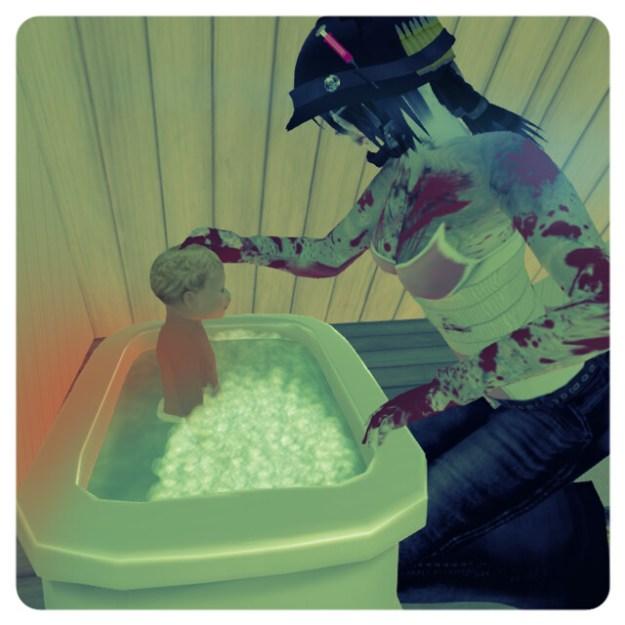 Zombie Killers Love Their Babies Too