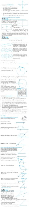 NCERT Class VI Mathematics Chapter 14 Practical Geometry  Image by AglaSem