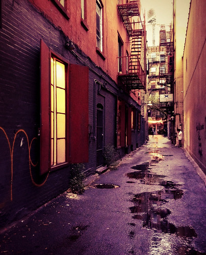 New York Alley - Lower East Side