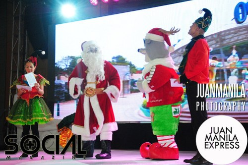 Finally, hosts Andi Manzano and Rovilson Fernandez found Santa Claus with the help of their new friend.