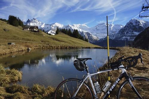An Alps Pond