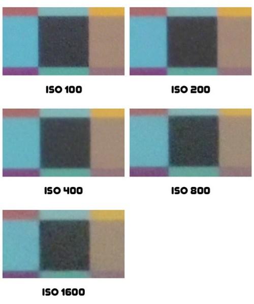 Praktica Luxmedia 14-Z51 ISO zestawienie