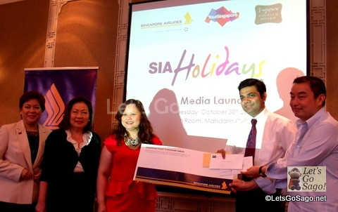 SIA Holidays Launch
