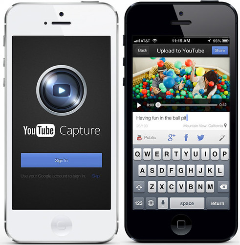 Youtube Capture: nueva aplicación de Google para iOS
