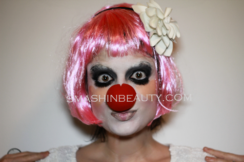 Clown Makeup Tutorial Halloween 2013 
