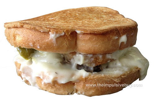 Jack in the Box Hot Mess Burger