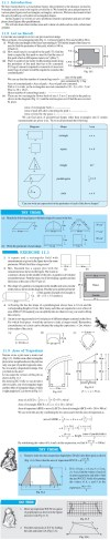 NCERT Class VIII Maths Chapter 11 Mensuration