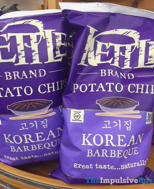 Kettle Brand Korean Barbeque Potato Chips