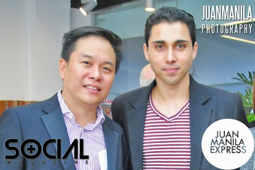 Barako Bull Energy Cola Shawn Weinstein (right) with CWC International Corporation, Vice President Frederick Yuson (left).