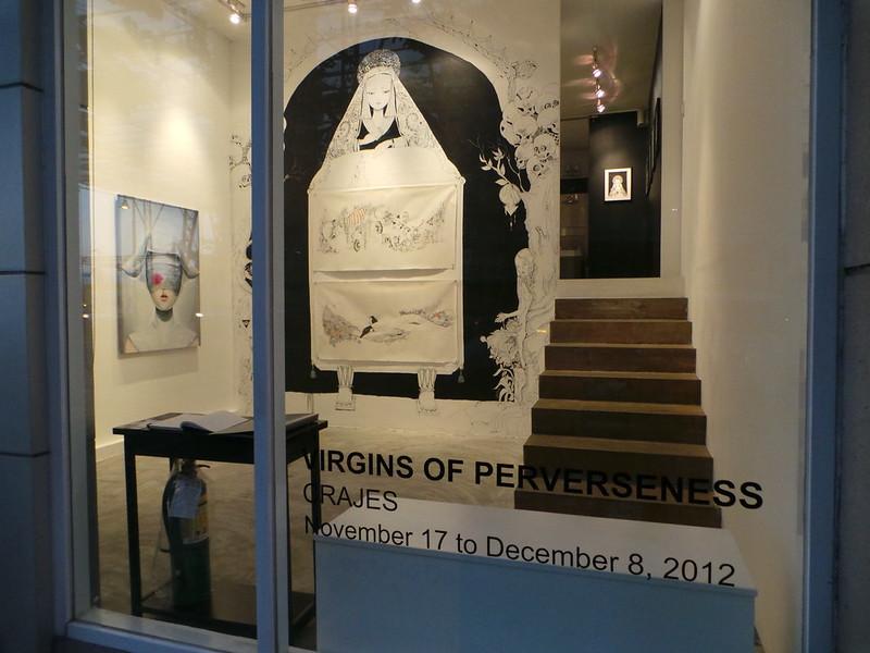 Crajes exhibit at Pablo