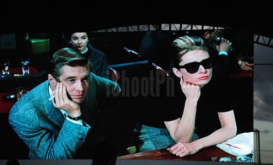 Scene from the Hollywood classic 1961 Breakfast at Tiffany's.