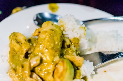 Home Thai green curry