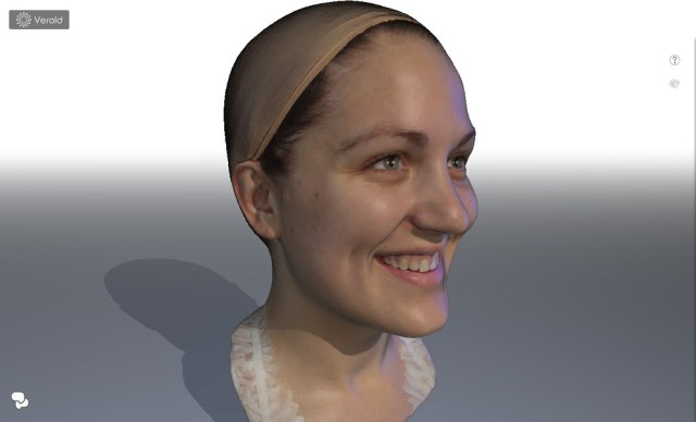 Female Head Scan