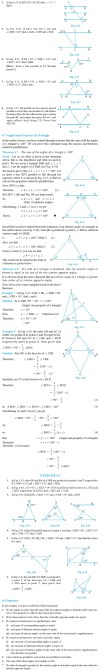 NCERT Class IX Maths Chapter 6 Lines and Angles Image by AglaSem
