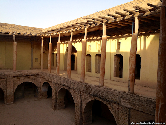 Courtyard in a Building at Erbil Citadel