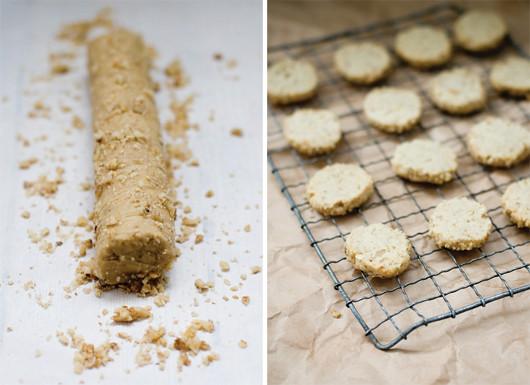 Walnut Dulce de Leche Sandwich Cookies