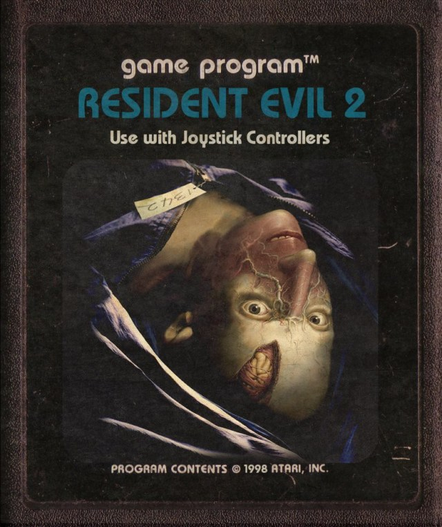 Resident Evil 2 Atari Cartridge