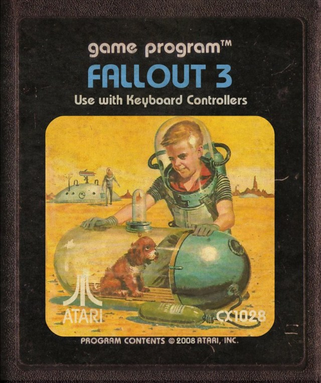 Fallout 3 Atari Cartridge