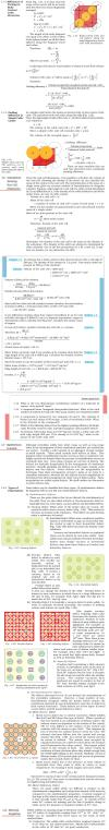 NCERT Class XII Chemistry: Chapter 1   The Solid State